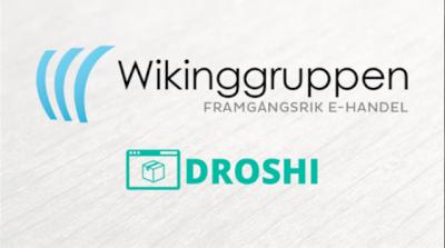 Wikinggruppen och Droshis loggor