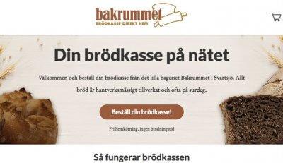 Bageri Bakrummet Wikinggruppen