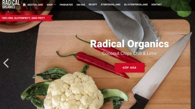 Radical organics Pacific Rim Natural Foods Europe