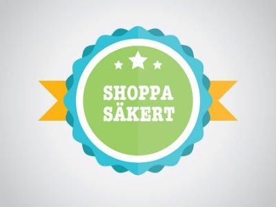 Shoppa säkert Trustpilot Trygg e-handel Certifierad e-handel