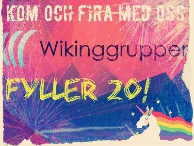Wikinggruppen fyller 20